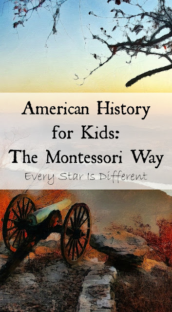 American HIstory for Kids: The Montessori Way