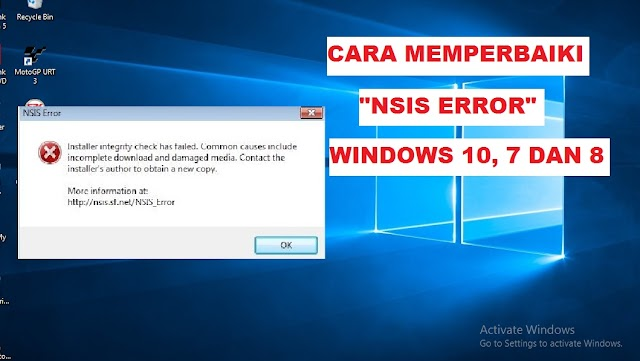 "Cara Memperbaiki ""Nsis Error"" Pada Windows 100% Fix!"
