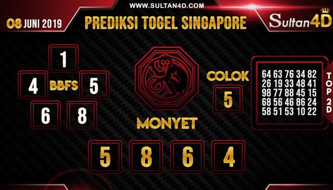 PREDIKSI TOGEL SINGAPORE SULTAN4D 15 JUNI 2019