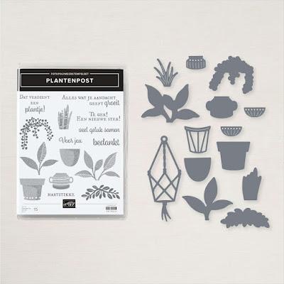 Plantenpost Productpakket, Stampin'Up!®