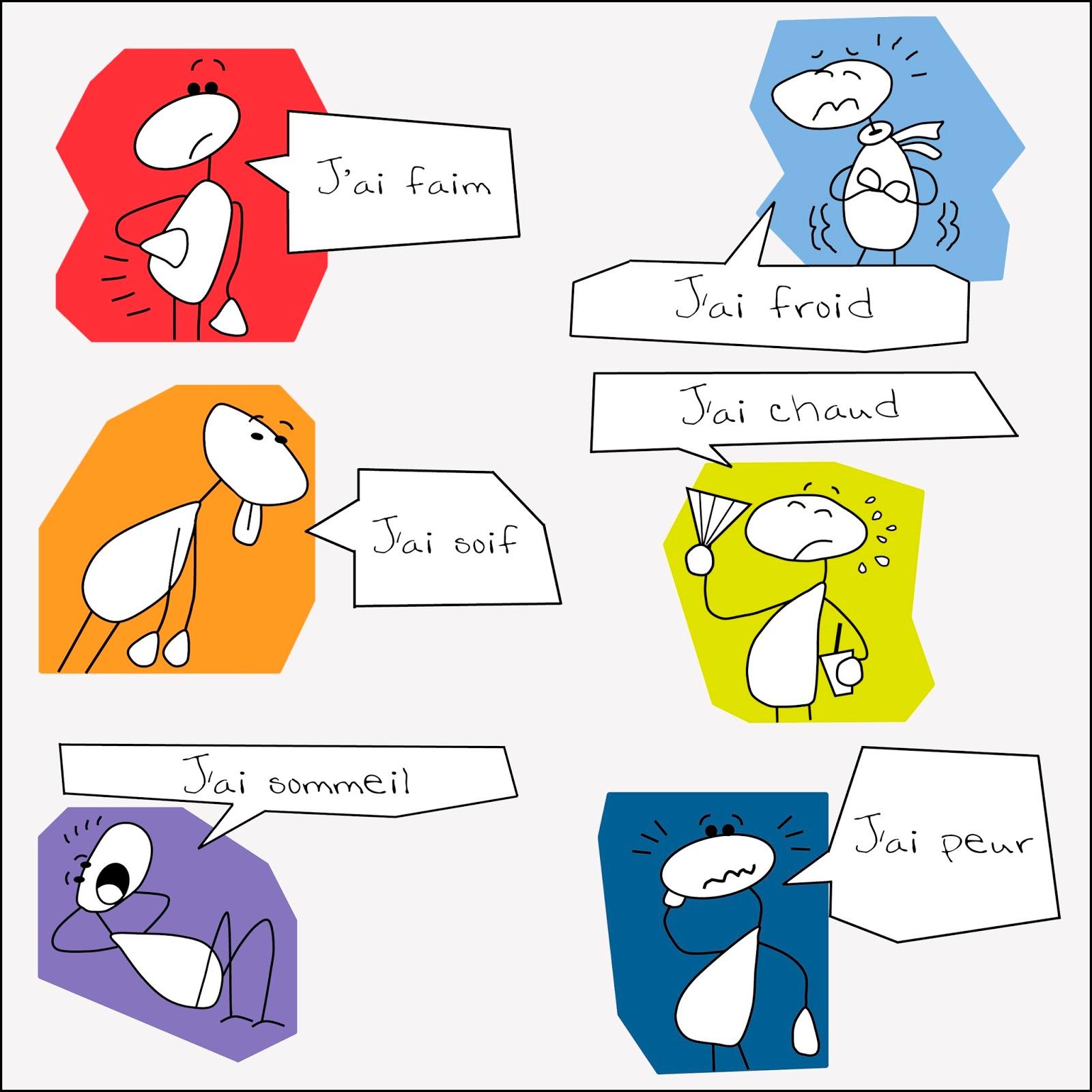 Wyrażenia z czasownikiem avoir - wyrażenia 2 - Francuski przy kawie