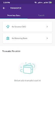 kirim uang ke bank