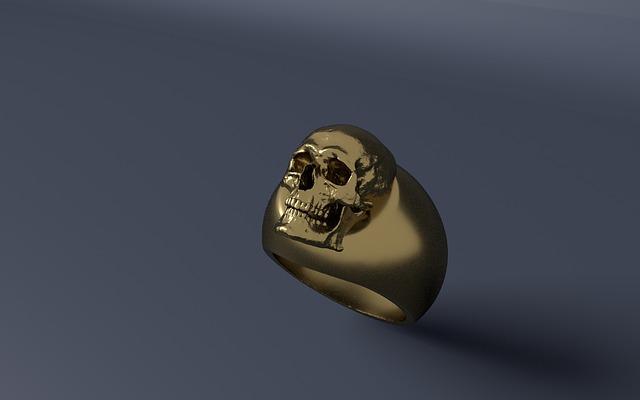 Skull Rings, The Fashion Statement Rings For Men