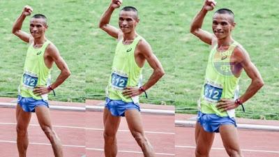 नेपाली धावक निमेशले जिते चीनमा तेस्रो स्वर्ण