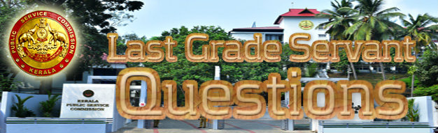 PSC Last Grade Servant Questions