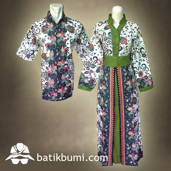 batik sarimbit gamis motif gentong