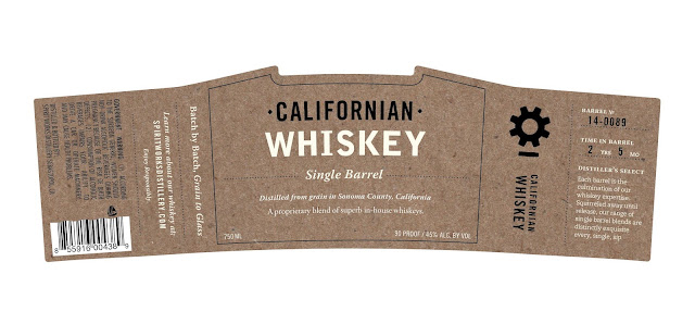 Spirit Works Distillery - Californian Whiskey