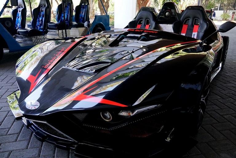 Lowo Ireng, Mobil Sport Berenergi Listrik Asli Buatan Indonesia