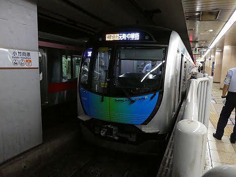 【速報】40050系の通勤急行 元町・中華街行きを目撃