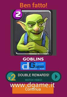 Soluzioni Quiz Clash Royale card livello 23