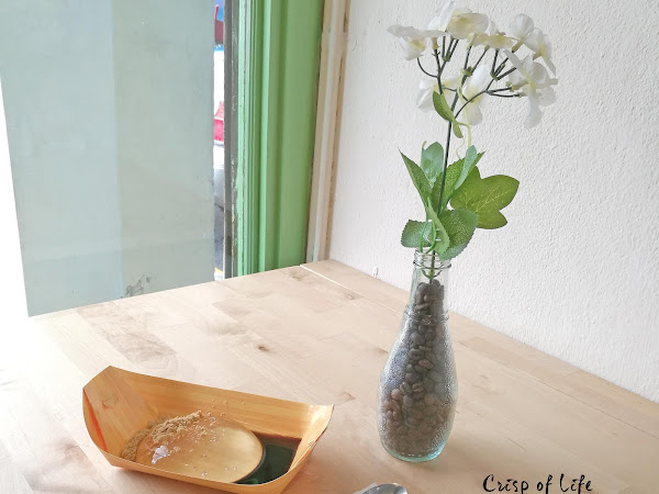 Japanese Raindrop Mochi @ Myarte Cafe, Lebuh Bishop, Penang