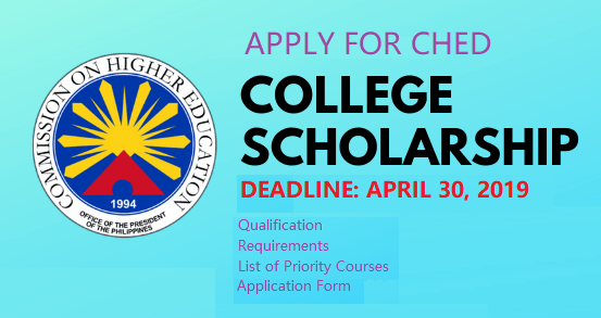 CHED Scholarship Program StuFAPs – Qualification and Requirements to Apply