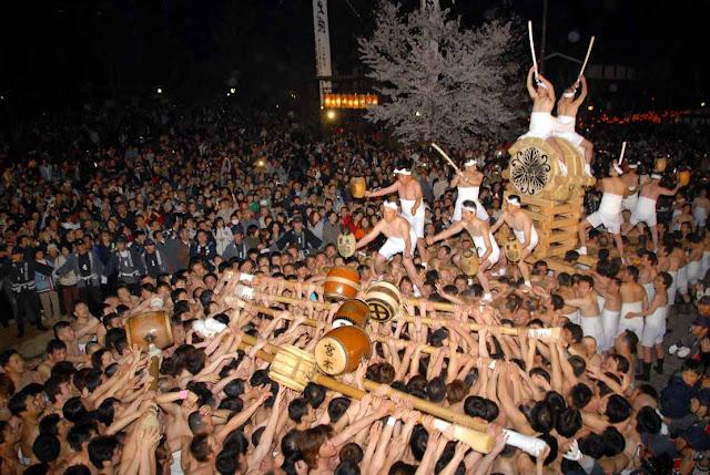 Okoshi Daiko (Furukawa Festival), Hida City, Gifu Pref.