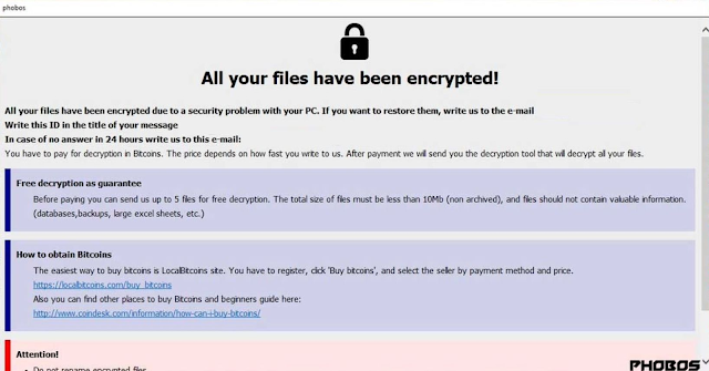 [Jamees0101@outlook.com].dewar (Ransomware Phobos)