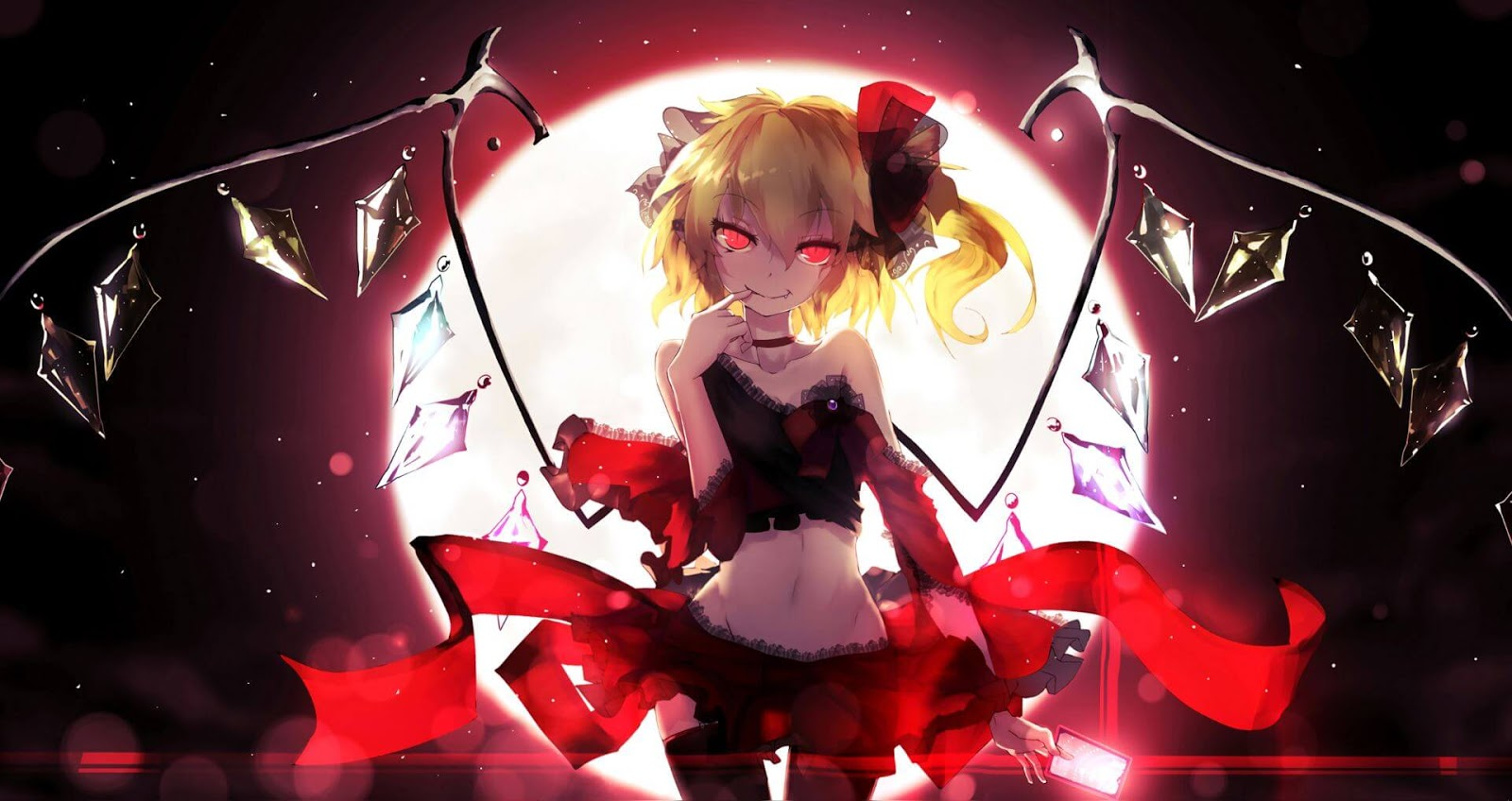 Flandre Scarlet 悪魔の妹 [東方] [Wallpaper Engine Anime]