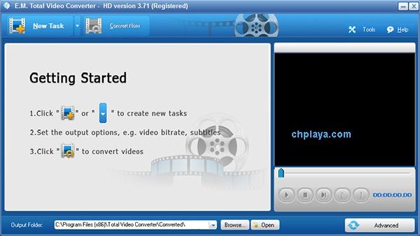 Download Total Video Converter - Phần mềm đổi đuôi Video, Audio, Nhạc a