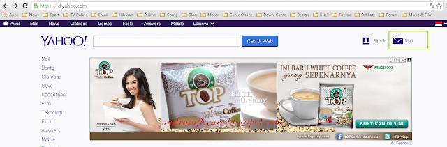 Langkah Pertama Cara Membuat Email Yahoo