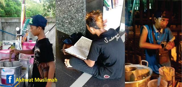 Kisah Penjual Cilok Hafidz Al-Qur'an 25 Juz