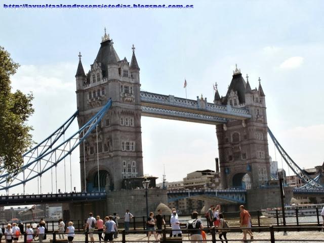 Vista del Tower Bridge.