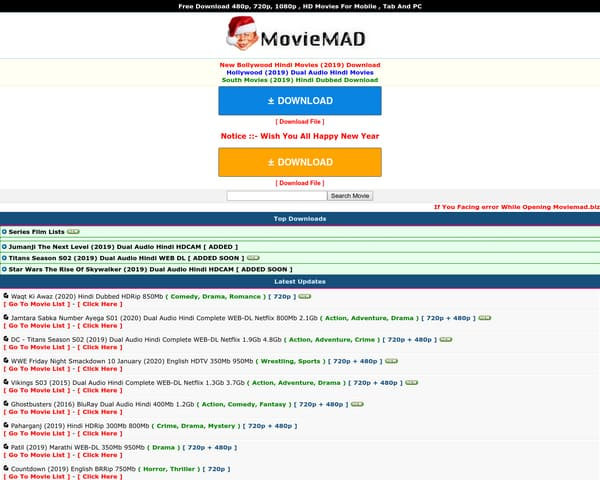 Moviemad Guru 2020- Download HD Bollywood Hollywood Movies