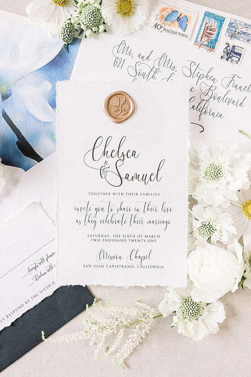 Southern California Wedding Invitation Designer