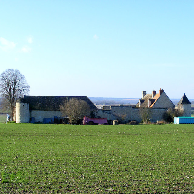 Manor of la Chetalliere, Indre et Loire, France. Photo by Loire Valley Time Travel.