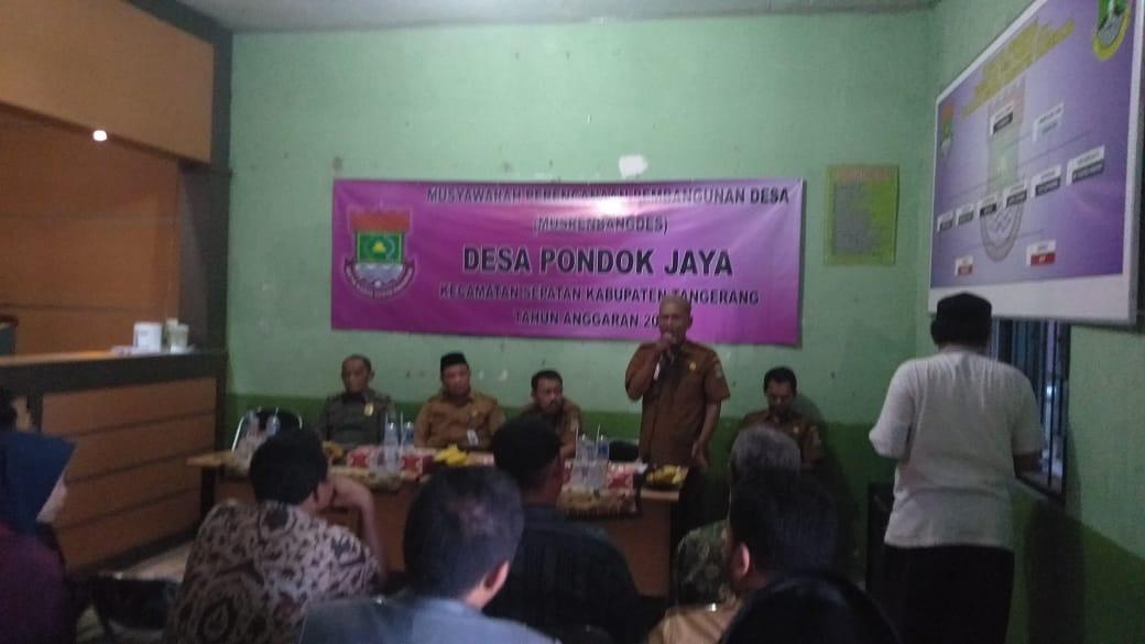 Musrenbag Desa Pondok Jaya, Usulan program dapat terealisasi