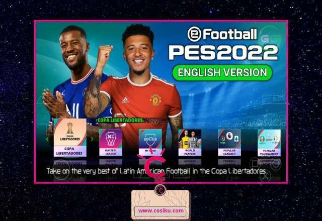 PES 2021-2022 PPSSPP English Version Terbaru Update Kits & Transfer Pemain