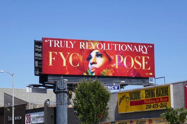 Pose season 1Emmy FYC billboard