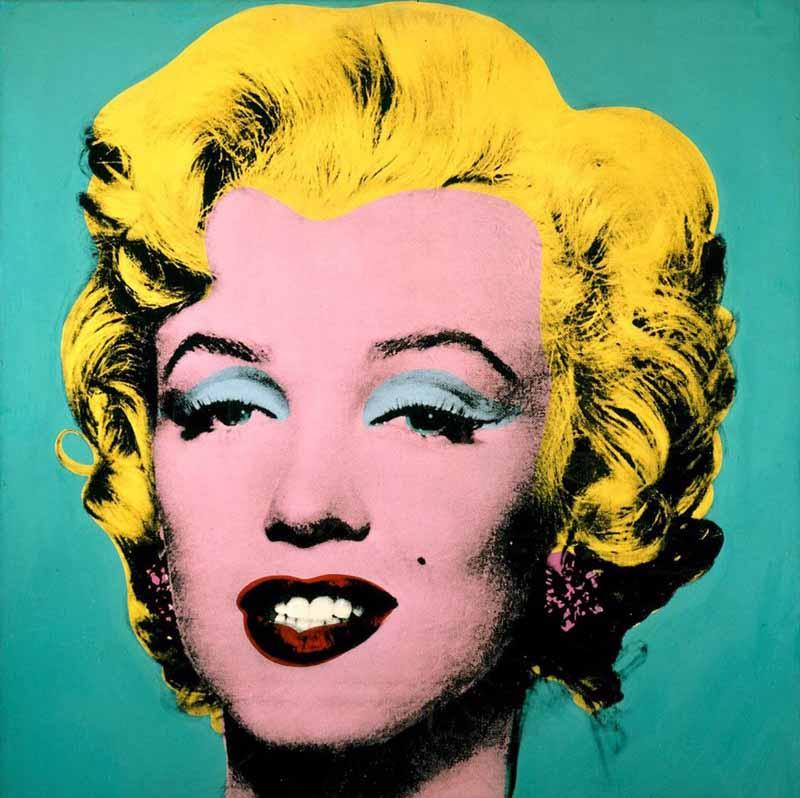 Un día... una obra: Andy Warhol: Marilyn Monroe
