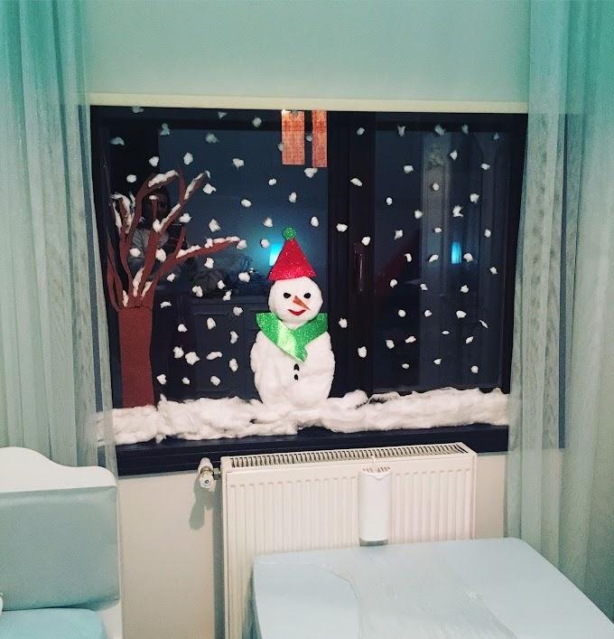 Çocuk Odası İçin Kar Kış Teması