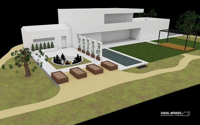 Diseño jardines, Paisajistas España, Paisajistas Extremadura, Estudios de paisajismo, Proyectos de paisajismo, Chill-out