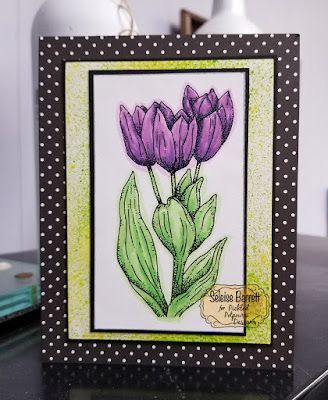 Tulip Digital Stamp from Pickled Potpourri Designs