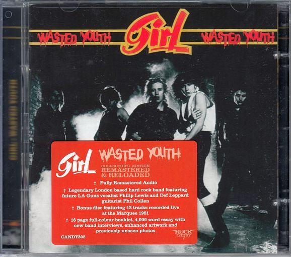 GIRL - Wasted Youth [Rock Candy remastered 2CD] (2016) full