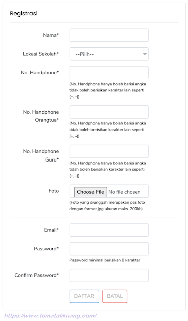 tata cara daftar kihajar stem 2020 tomatalikuang.com