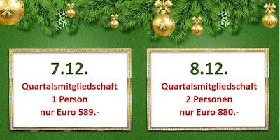 Aktion im Adventskalender 7. + 8.12.