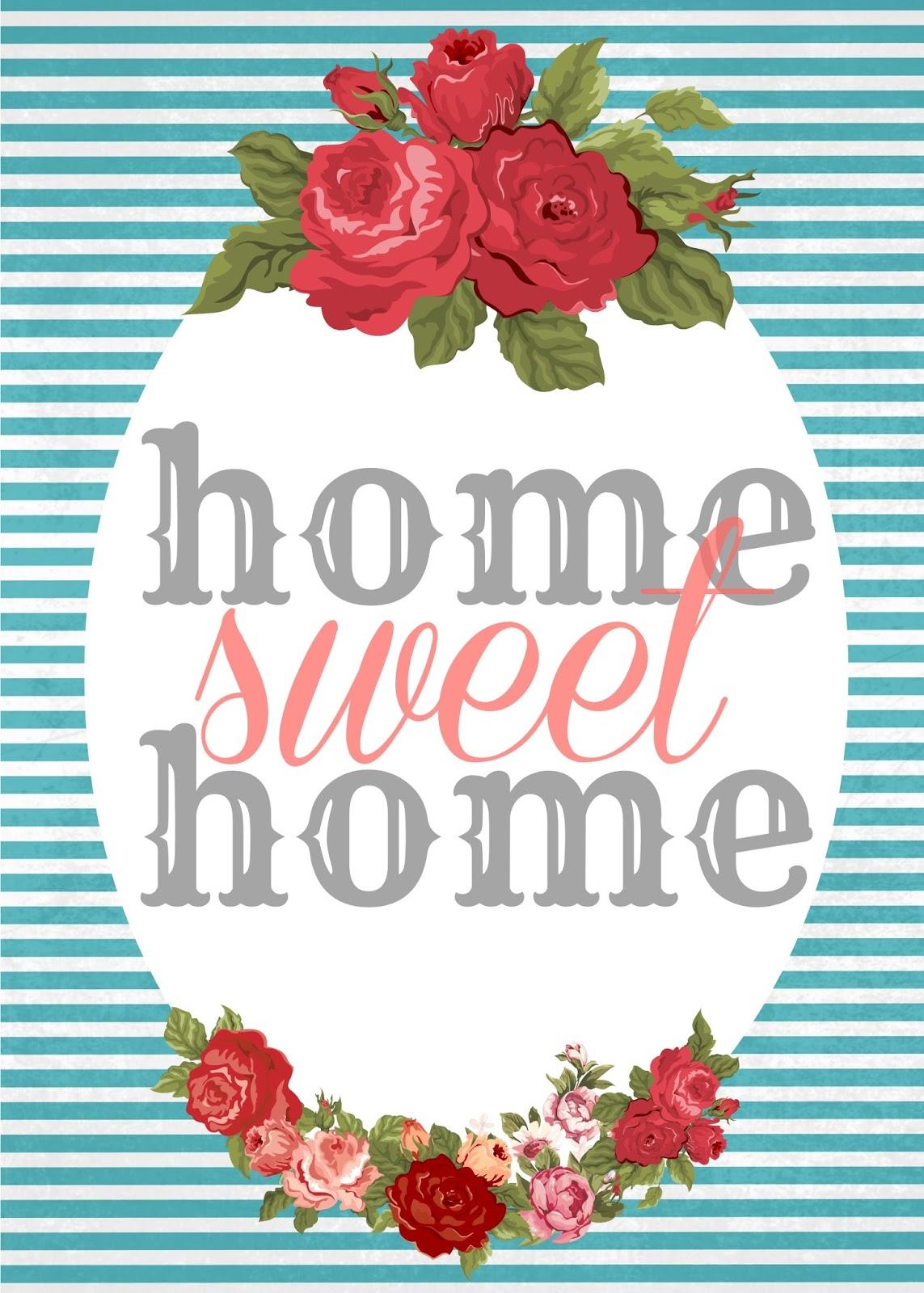 home sweet home free printables sweet charli. Black Bedroom Furniture Sets. Home Design Ideas
