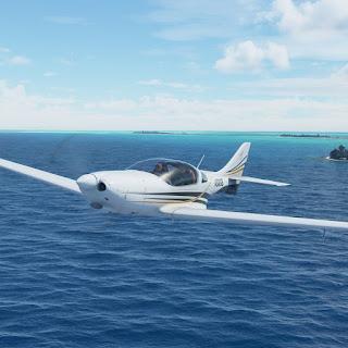 Microsoft Flight Simulator 2020 hydroplane