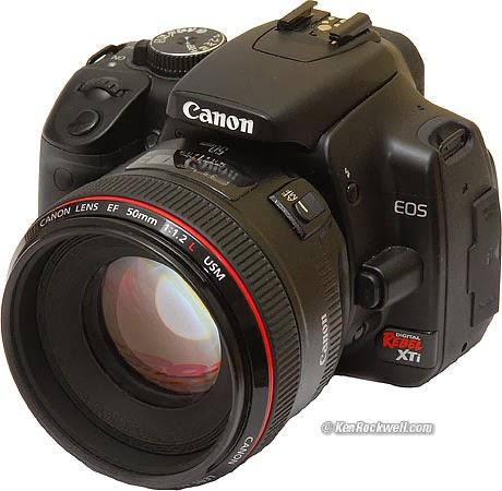 Canon Digital Rebel XTi 10 1MP | Camera Market