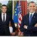 French President, Emmanuel Macron Replicates Obama's Official Portrait
