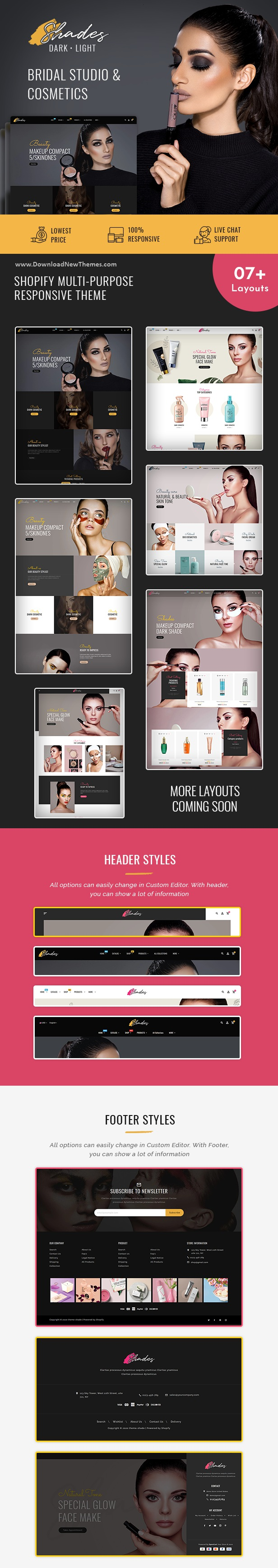 Free Shades Bridal Studio Shopify Responsive Theme