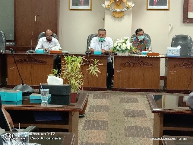 Bamus DPRD Pessel Belajar hak implementasi ke DPRD Sumbar