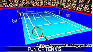 Screenshots of Tennis Clash: 3D Sports MOD APK 1.4.0 + Data Obb For Android