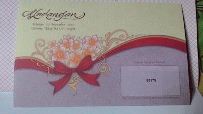 Undangan Pernikahan Termurah Erba 88175