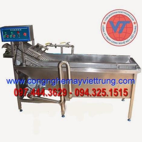 bán máy máy rửa rau công nghiệp, máy rửa rau củ quả đa năng