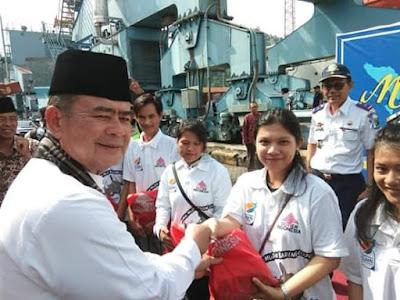 Wagub Nasrul Abit Lepas 250 Ribu Pemudik Gratis ke Mentawai