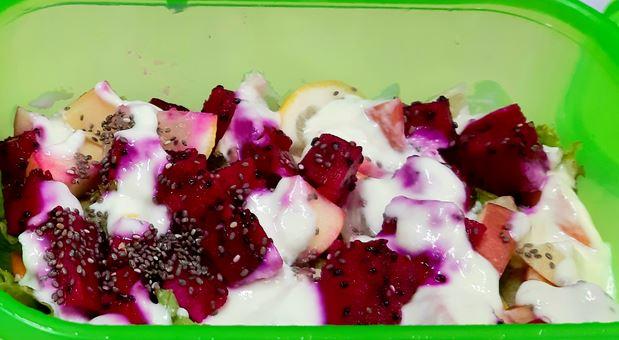 Cara mudah membuat salad sayur anek sayuran