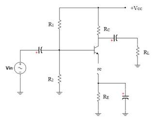 Rangkaian Transistor Common Emitor