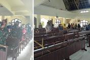 TNI Kodim 1310/Bitung Melakukan Ibadah Bersama Warga Kumersot