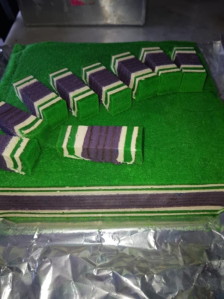resepi kek lapis green berry velvet